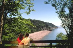 Der Fundy Trail - St. Martins - Photo Credit: Tourism New Brunswick